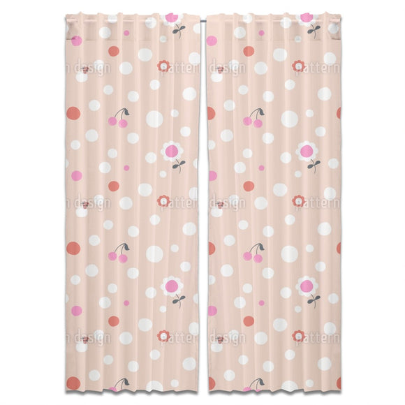 Dots And More Curtains