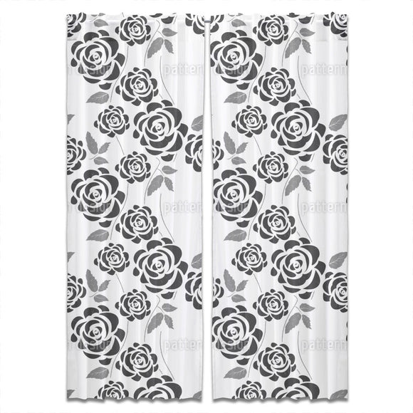 Climbing Roses Curtains