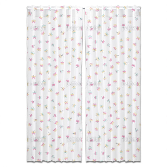 Baby Butterfly Curtains