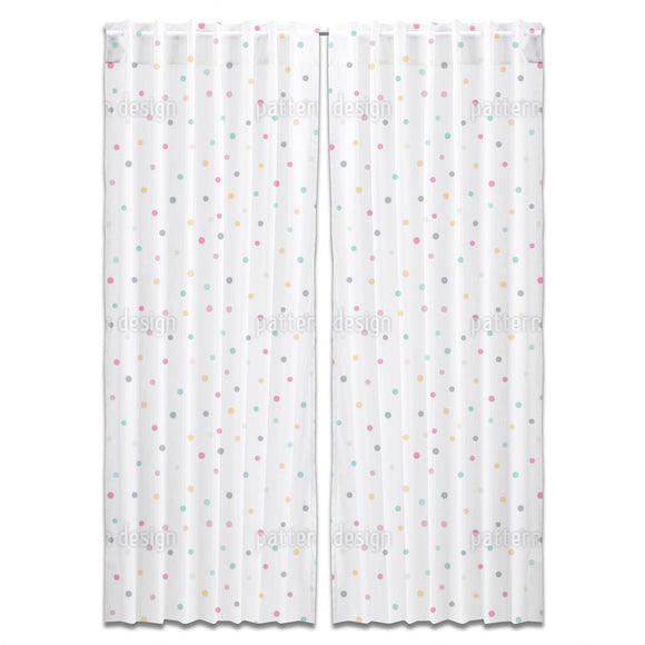 Confetti Rain Curtains