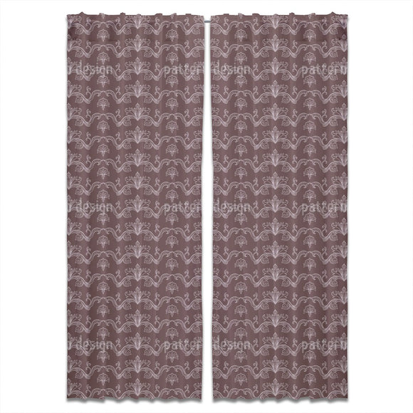 Linked Arabesque  Curtains