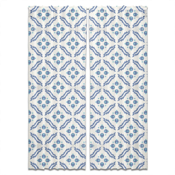 Traditional Turkish Tiles Curtains