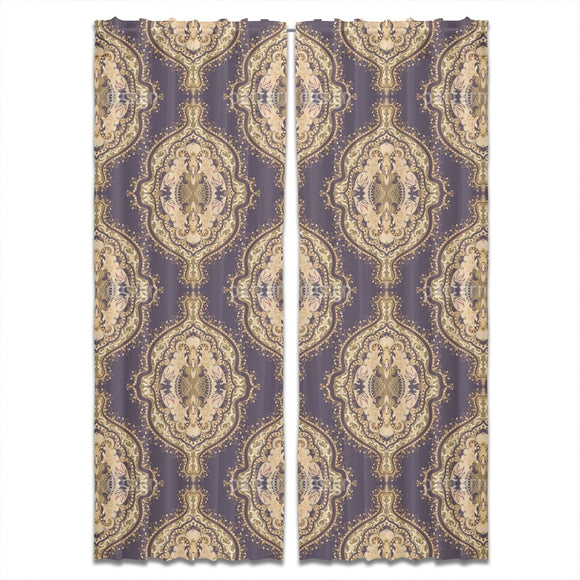 Ethnic Symmetry Curtains