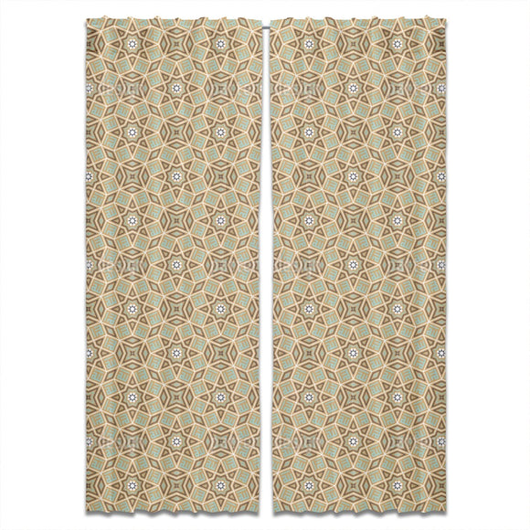 Floral Arabia Curtains