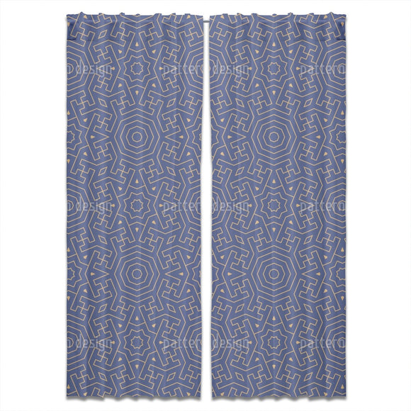Moroccan Labyrinth Curtains