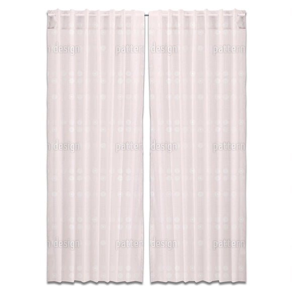 Very Soft Flowers Curtains