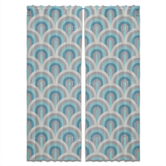 Art Deco Scales Curtains