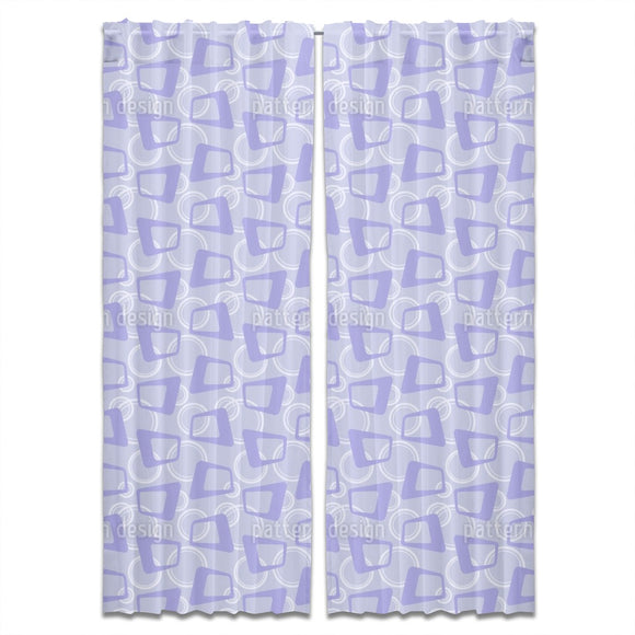 Retro Midnight Party Curtains