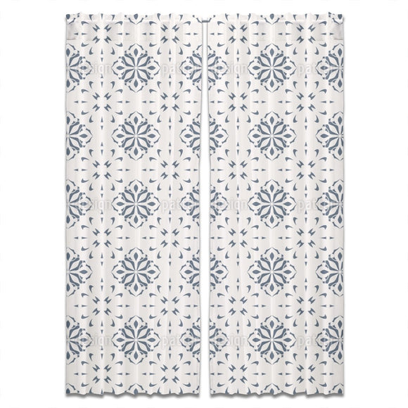 Country Tiles Curtains
