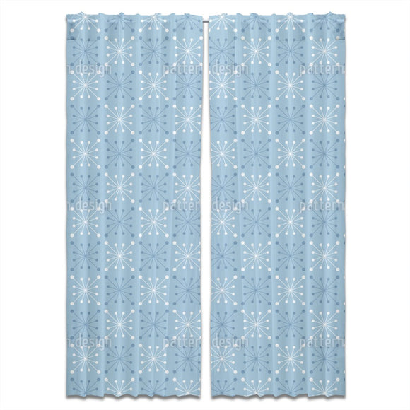 Retro Flakes Curtains