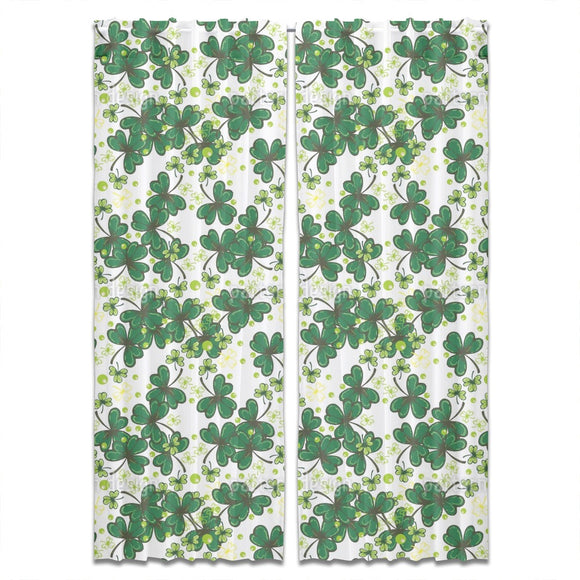 Evergreen Spring Curtains
