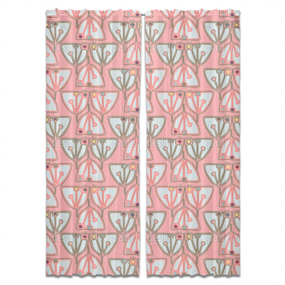 Vivid Cacti Curtains