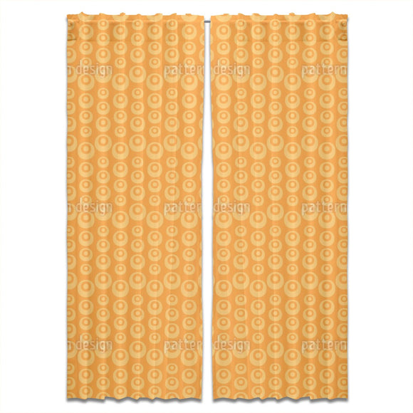 Abstract Fruit Elements Curtains
