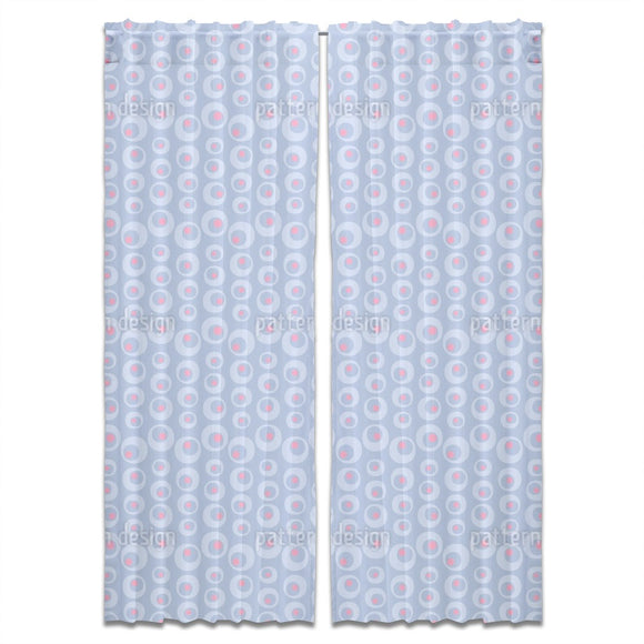 Chains Of Dots Curtains