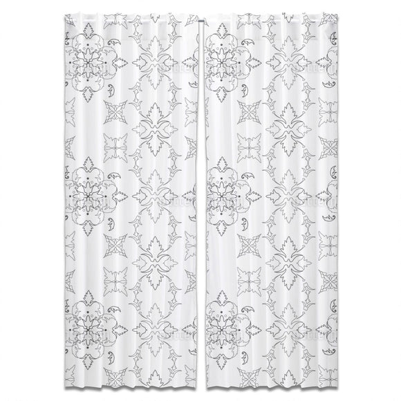 Gothic Symmetry Curtains