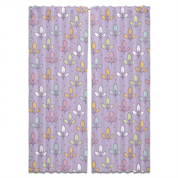 Leaf Meadow Curtains
