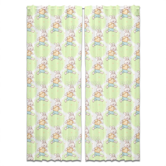 Busy Bunnies Curtains