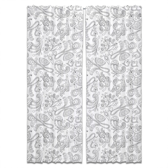 Ornamental Dream Curtains