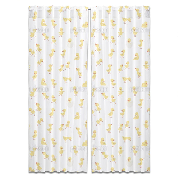 Little Ducklings Curtains