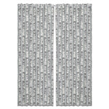 Birchbark Curtains