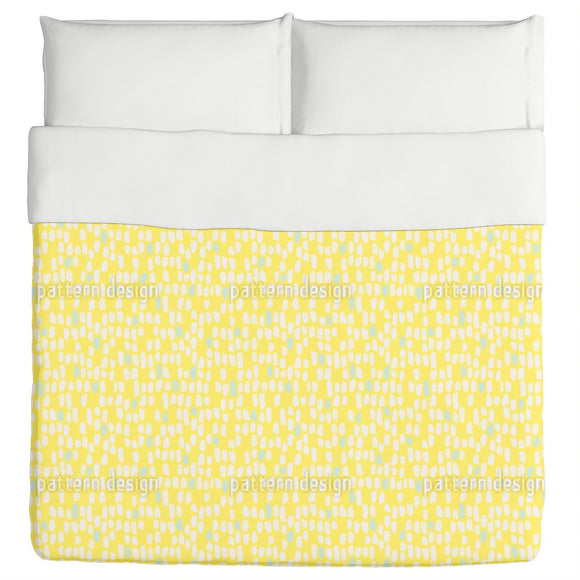 Brush Dots Duvet