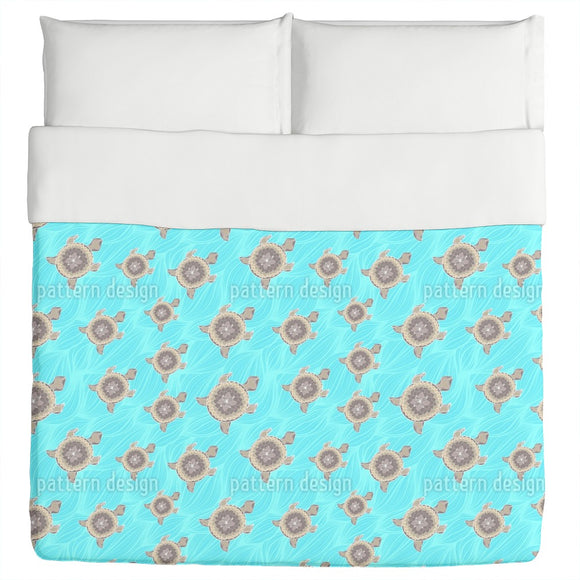 Decorative Turtle Duvet