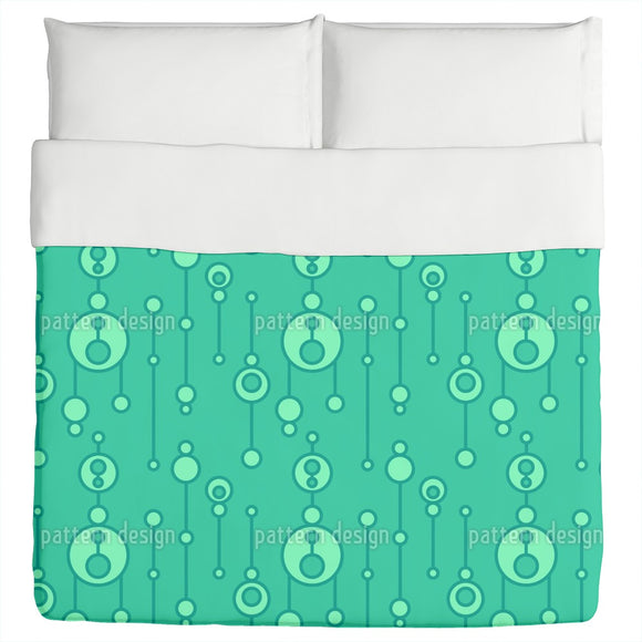Abstract Talisman Duvet