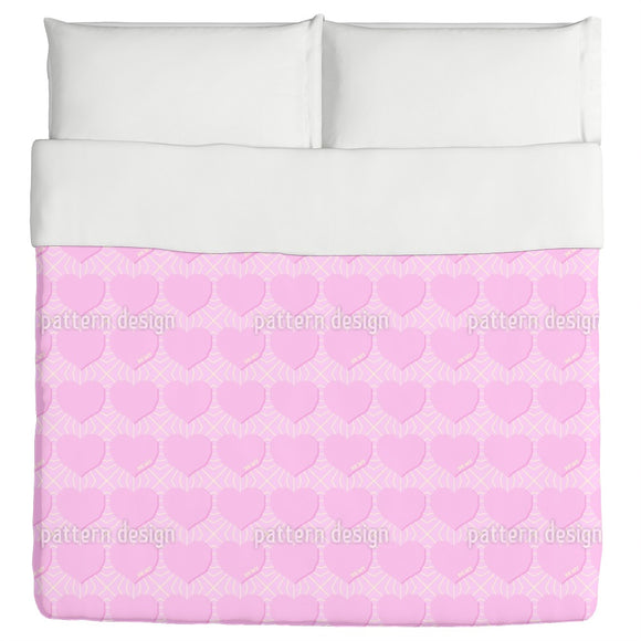 Angular Hearts Duvet