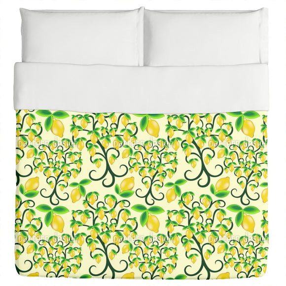 Lemon Tree Duvet