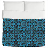 Black and Blue Duvet
