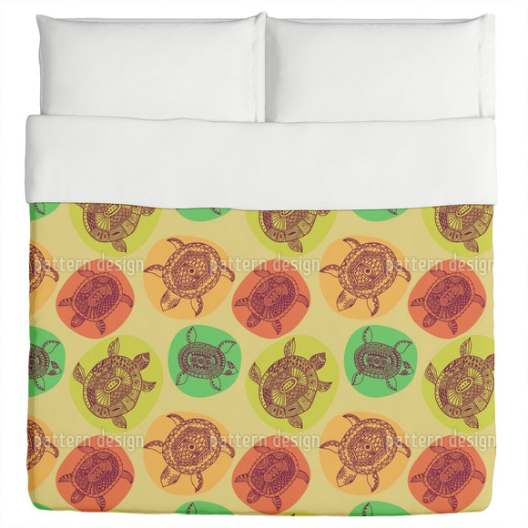 Turtles Of All Oceans Duvet