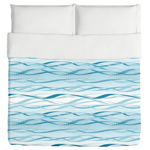 Blue Waves Duvet