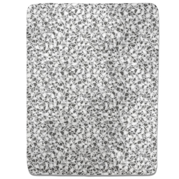 Monochrome Terrazzo Fitted Sheets