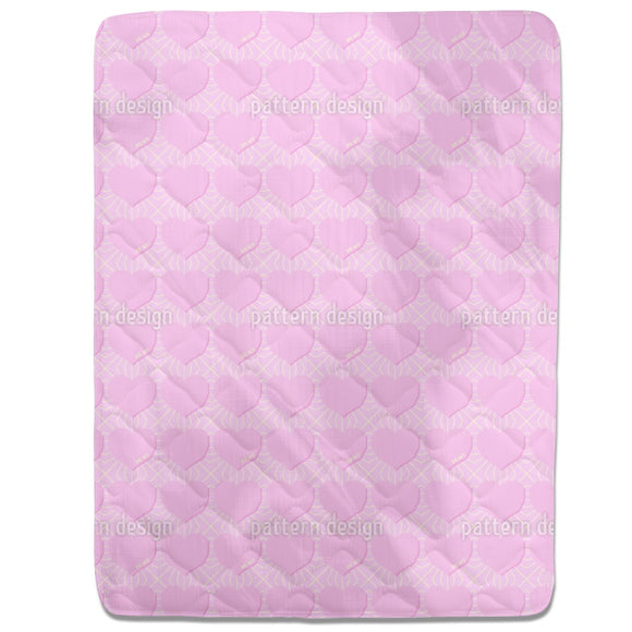 Angular Hearts Fitted Sheets
