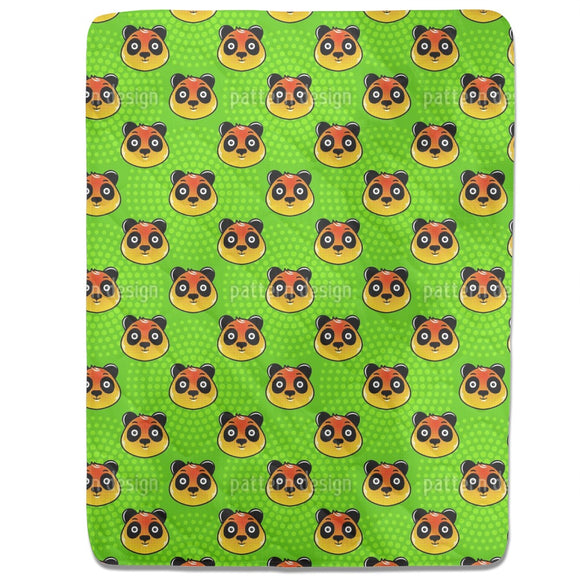 Panda Face Fitted Sheets
