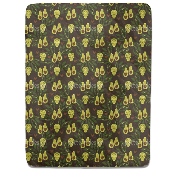 Lovely Avocado Fitted Sheets
