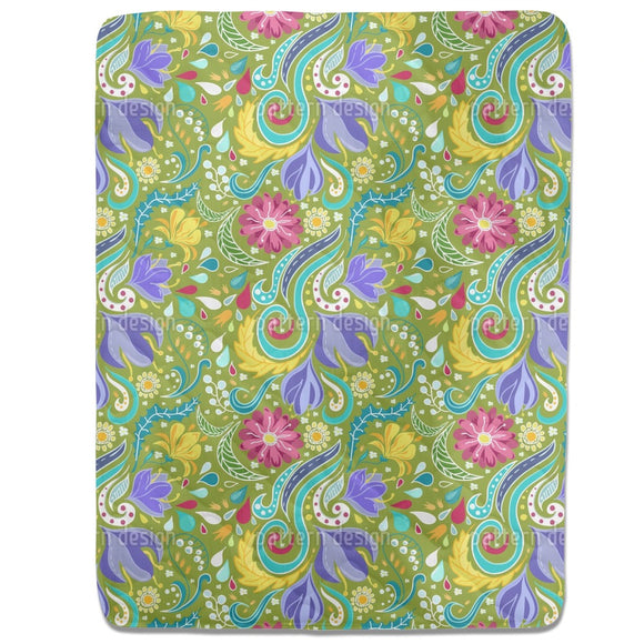 Fantasy Flora Fitted Sheets