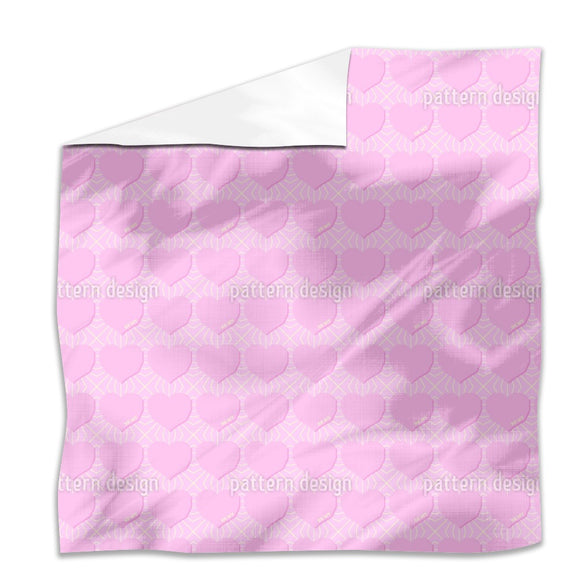 Angular Hearts Flat Sheets