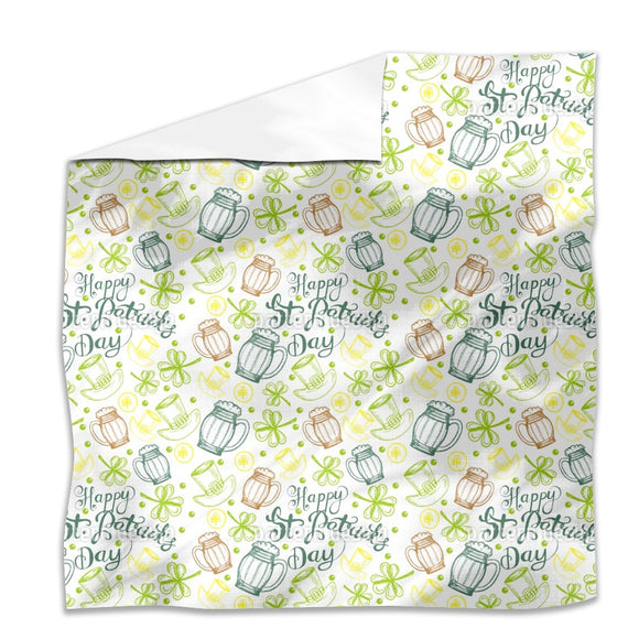 St Paddies Party Flat Sheets