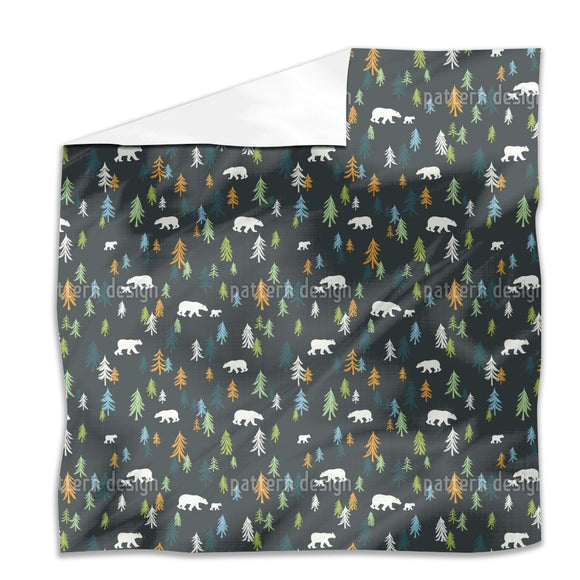 Bears In The Forest Flat Sheets