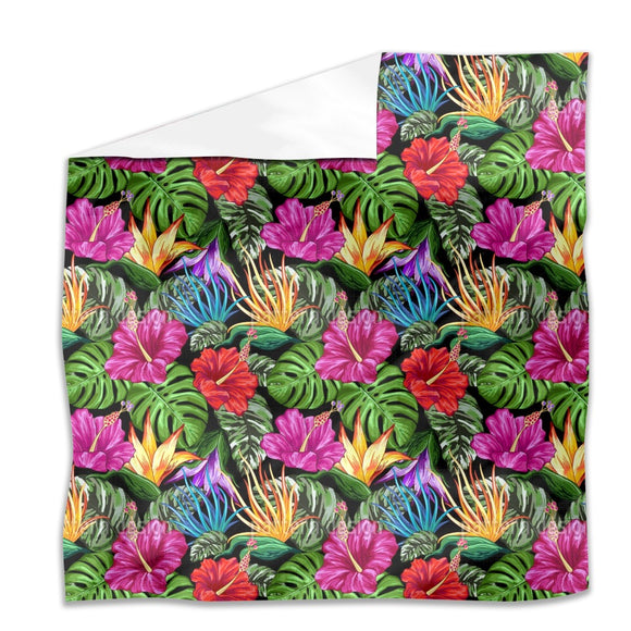 Tropical Flora Summer Mood Flat Sheets