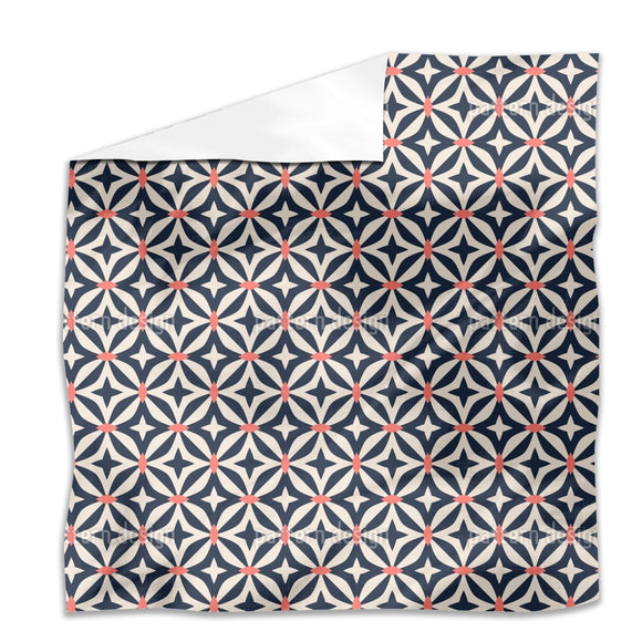 Abstract Moroccan Shapes Flat Sheets