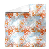 Coral Garden Flat Sheets