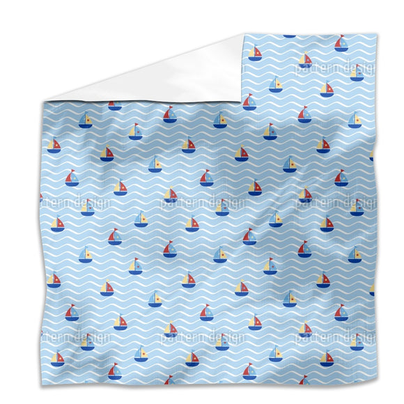 Tiny Sails Flat Sheets