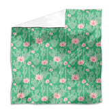 Cactus In Bloom Flat Sheets