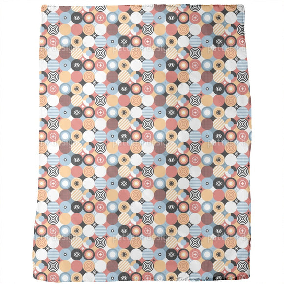 Patchwork Circles Blankets