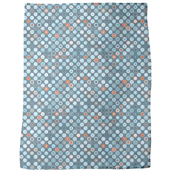 Rowanberry Winter Dots Blankets