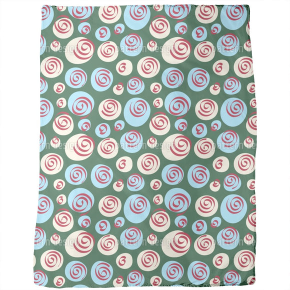 Dots and Swirls Blankets