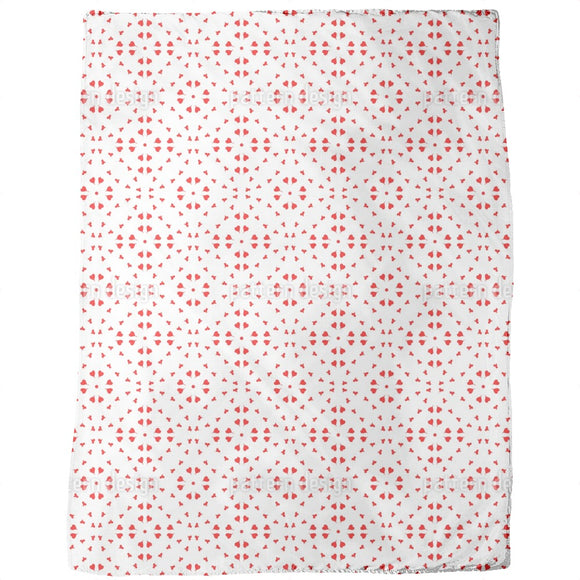 Circle Dance Of Hearts Blankets