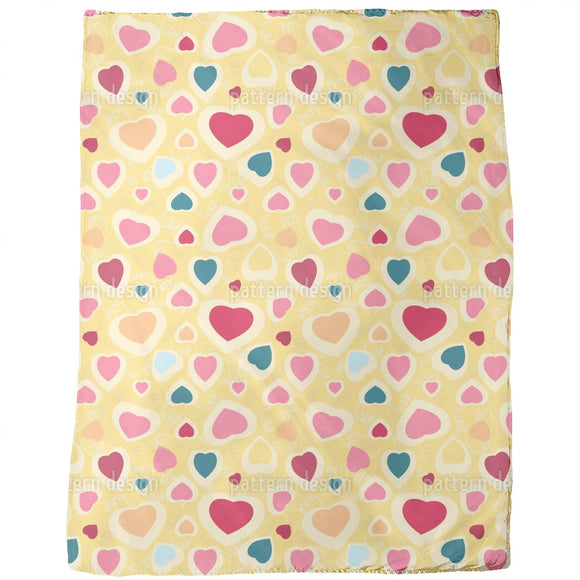 Chaotic Hearts Blankets